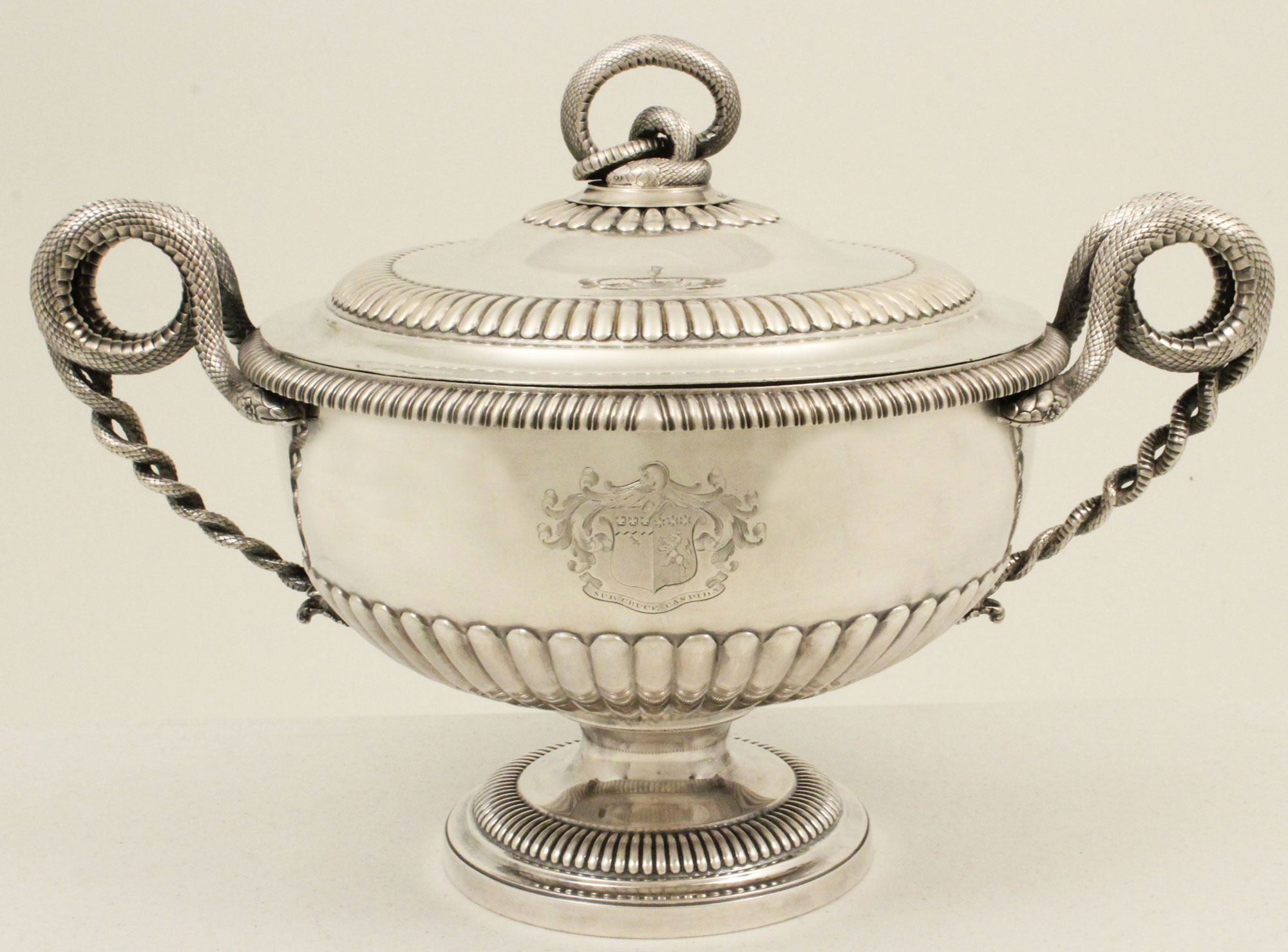 George Iii Silver Tureen, Burwash And Sibley, London, 1807